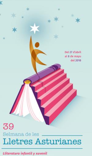 Cartelu XXXIX Selmana de les Lletres Asturianes