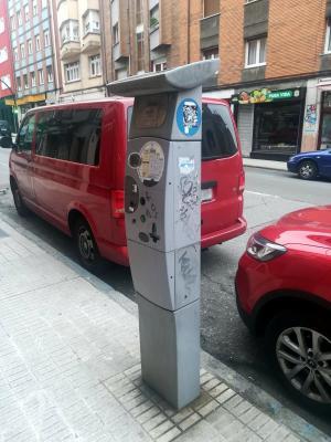 Xixón va contar con parquímetros nuevos