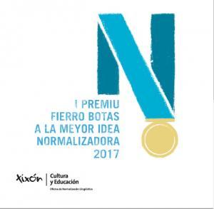 Convocáu la primer edición del Premiu Fierro Botas a la Meyor Idea Normalizadora