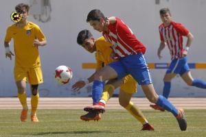 Sporting 1-3 Atlético (4 de mayu del 2018) final Copa de Campeones xuvenil
