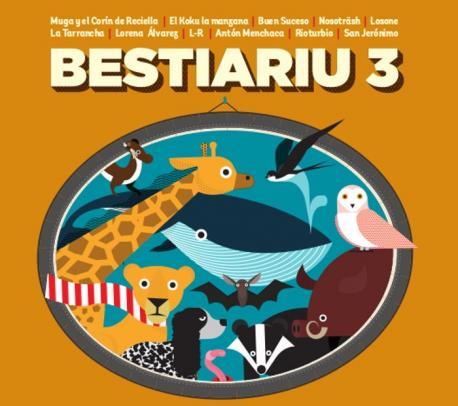 Presentación de Bestiariu 3
