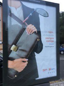 Campaña 'En Gijón, el deporte siempre contigo'