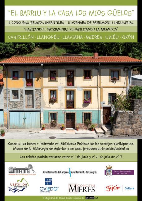 Concursu de rellatos infantiles 'El barriu y la casa los mios güelos'