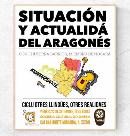 Charra sobre la la situación del aragonés