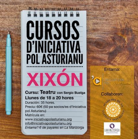 Iniciativa pol Asturianu entama un taller básicu de teatru