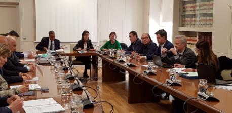 Reunión Xixón al Norte aprobación conveniu Plan de Víes