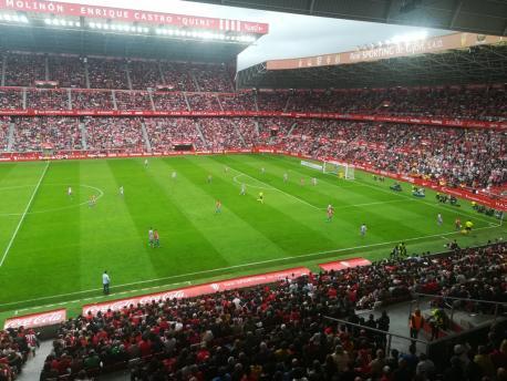 Sporting 1-2 Valladolid (10 de xunu del 2018) pa YeXixón