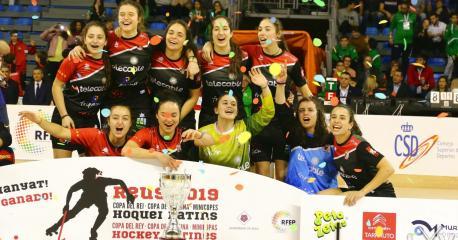 Telecable Xixón campeón de Copa