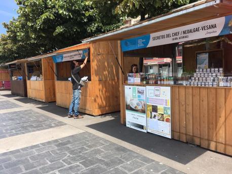 El V Salón d'Agroalimentación y Turismu del Arcu Atlánticu pon sabor al festival