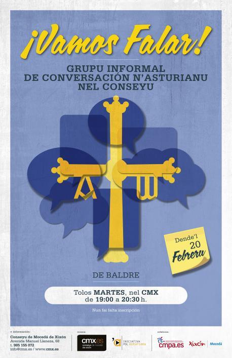 Torna'l grupu de conversación n'asturianu al CMX