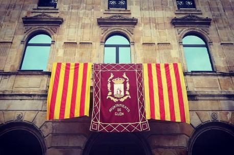Xixón con Catalunya