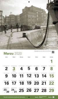 Calendariu 'Xixón de los 50' marzu