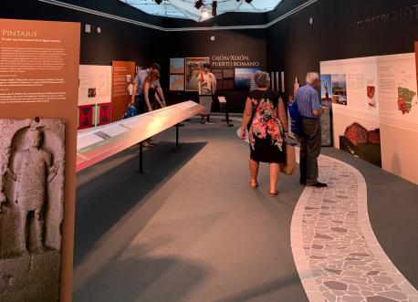 El pabellón del Conceyu de Xixón en Fidma recibe 68.335 visites