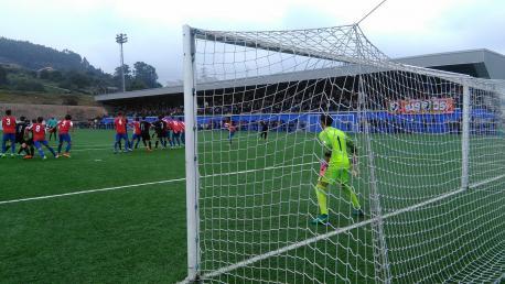 El Sporting B ganador de la Copa Federación Asturiana