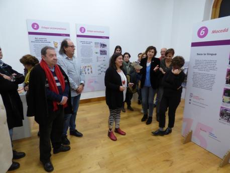 Inauguración esposición 15 años Oficina de Normalización Llingüística de Xixón