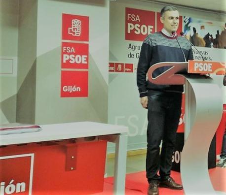 Fernández Ardura resulta escoyíu pola militancia como secretariu xeneral del PSOE llocal