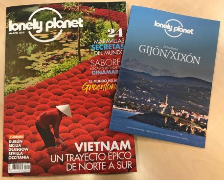 Xixón yá tien guía Lonely Planet.