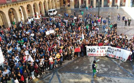 Manifestación en Xixón  fuelga revalida 261016