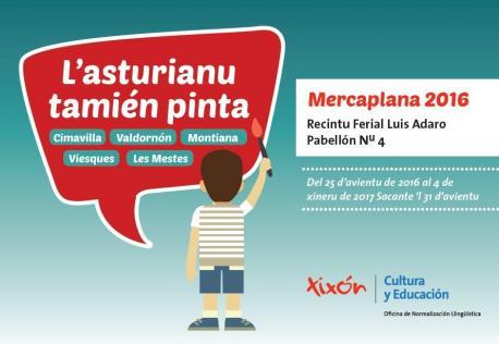 L'asturianu tien el so espaciu en Mercaplana