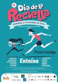 Una carrera de families pol asturianu, novedá nel IV Día de la Reciella