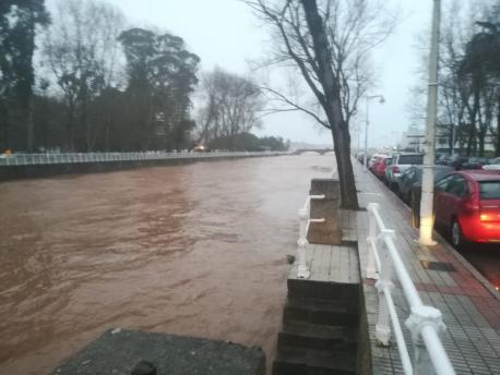 Ríu Piles temporal 23 de xineru del 2019