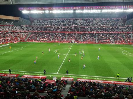 Sporting 2-1 Valencia (Copa, 8 de xineru del 2019)