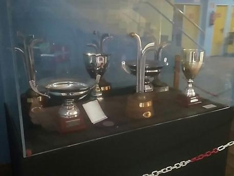 Trofeos del Hostelcur Xixón hasta la 2015-2016