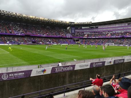 Valladolid 0-1 Sporting (15 d'abril del 2018)