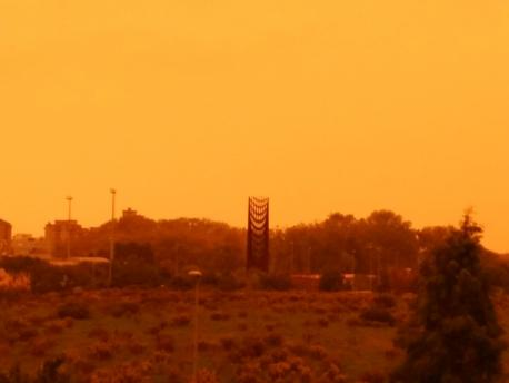 Xixón en prealerta por contaminación atmosférico