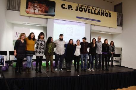 Yolanda González Huergo y candidatos Ganar Xixón 2019