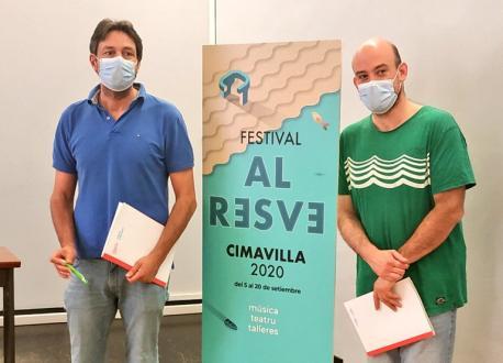 Alberto Ferrao y Miguel Barreo presentación Festival Al Resve