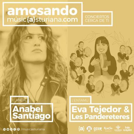 'Amosando' con Anabel Santiago y Eva Tejedor & Les Pandereteres