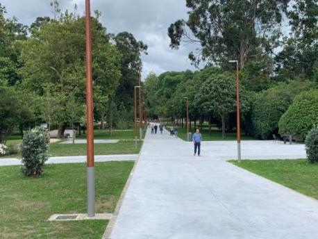 Ampliación parque per avenida d'El Molinón