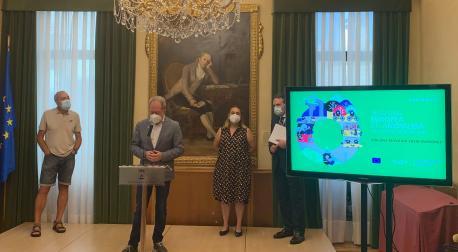 Aurelio Martín presentación XX Selmana Europea de la Movilidá
