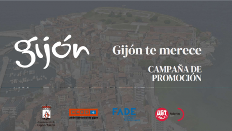 Cartelu campaña 'Gijón te merece'
