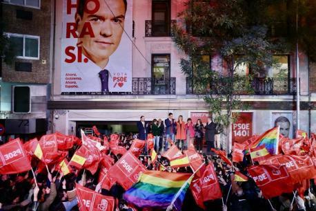 Celebración PSOE 28-A