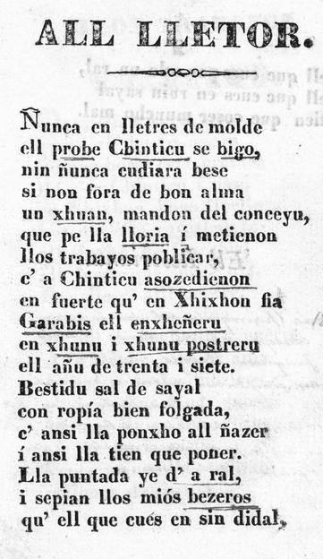 El primer llibru imprentáu en Xixón n'asturianu