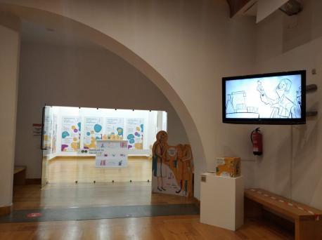Esposición 'Margarita Salas, una muyer con ciencia'