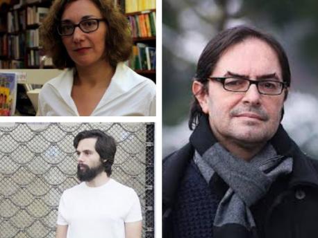 Marta Mori, Xaime Martín y Gonzalo G. Barreñada POEX