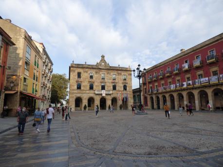 Plaza Mayor y Casa Conceyu de Xixón