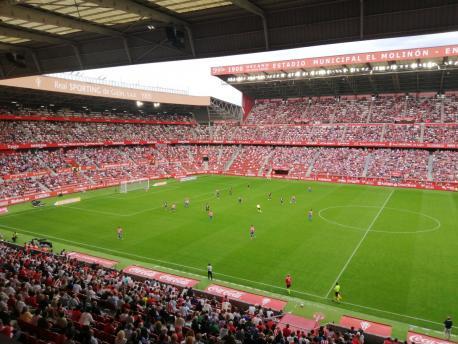 Sporting 2-1 Málaga CF (26 de setiembre del 2021)