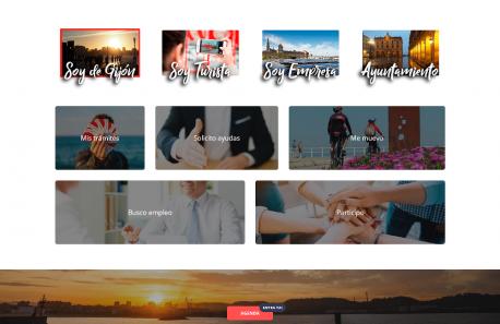 Web de Xixón 'Soy de Gijón'
