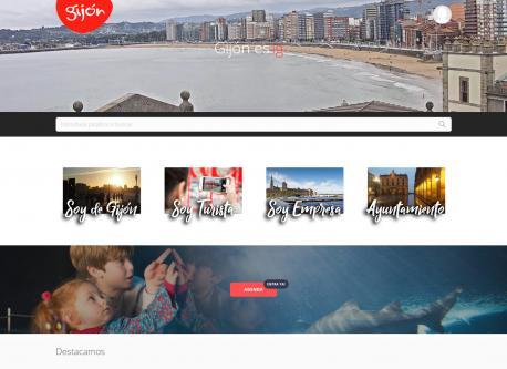 Web nueva de Xixón