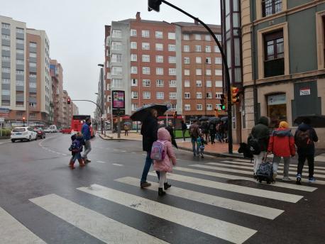 Xixón plaza 17 d'agostu