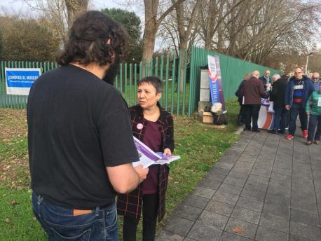 Yolanda G. Huergo va encabezar la llista de Ganar Xixón 2019 a les primaries de Podemos