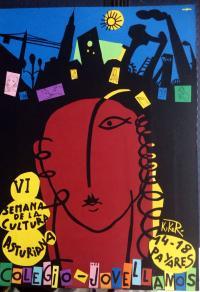 Selmana de la cultura asturiana nel Colexu Xovellanos