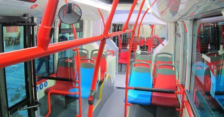 Autobús EMTUSA interior
