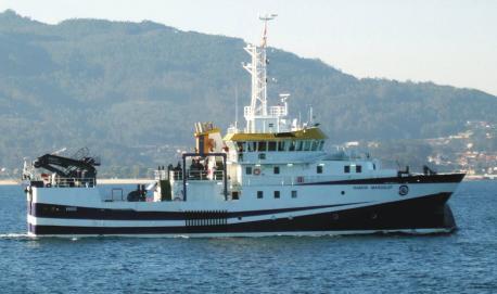 El buque oceanográficu Ramón Bargalef visita Xixón