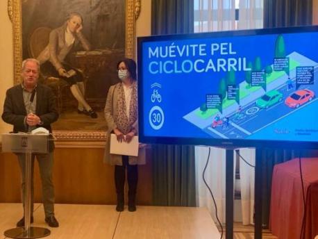 Campaña Muévite pel ciclocarril