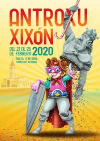 Cartelu Antroxu Xixón 2020